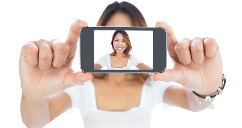 selfie sin filtros
